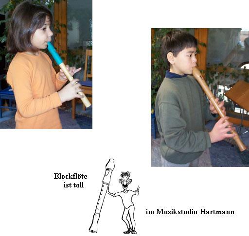 Floetenunterricht Musikstudio Hartmann