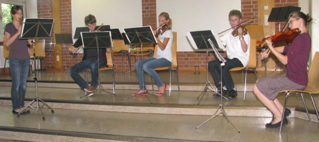 Benefiz- und Schülerkonzert am 7. Juli 2012 im Schliemann-Gymnasium