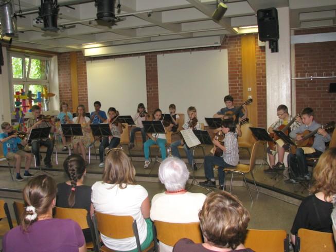 Schülerkonzert am 22. Juni 2013 im Heinrich-Schliemann-Gymnasium