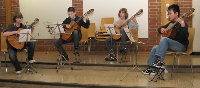 Anfangsbestezung Dowland-Quartett