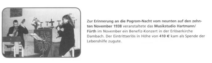 Benefiz-Konzert Ehepaar Hartmann