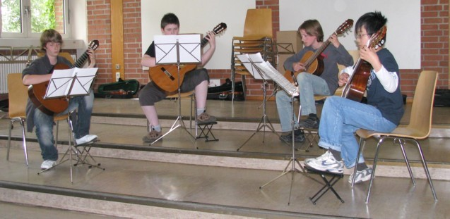 Dowland-Quartett Musikstudio Hartmann