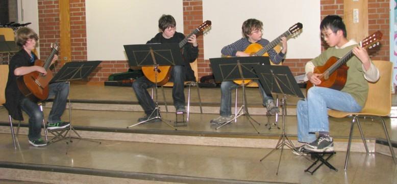 Dowland-Quartett Schuelerkonzert