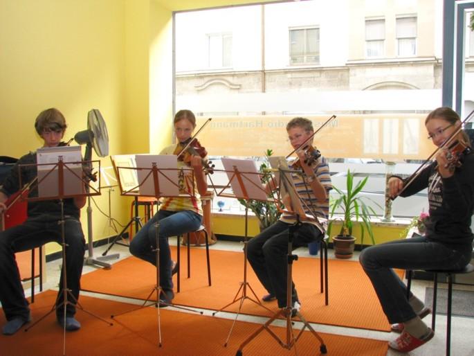 Geigenquartett Musikstudio Hartmann