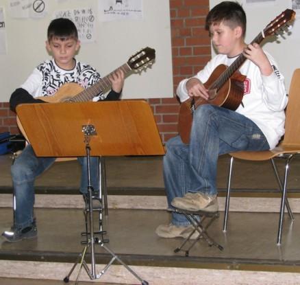 Gitarrenduo Musikstudio Hartmann