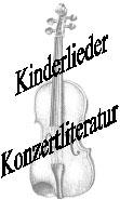 Kinderlieder Konzertliteratur