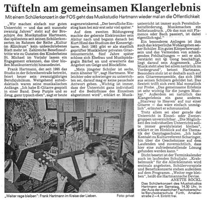 Musikstudio Hartmann