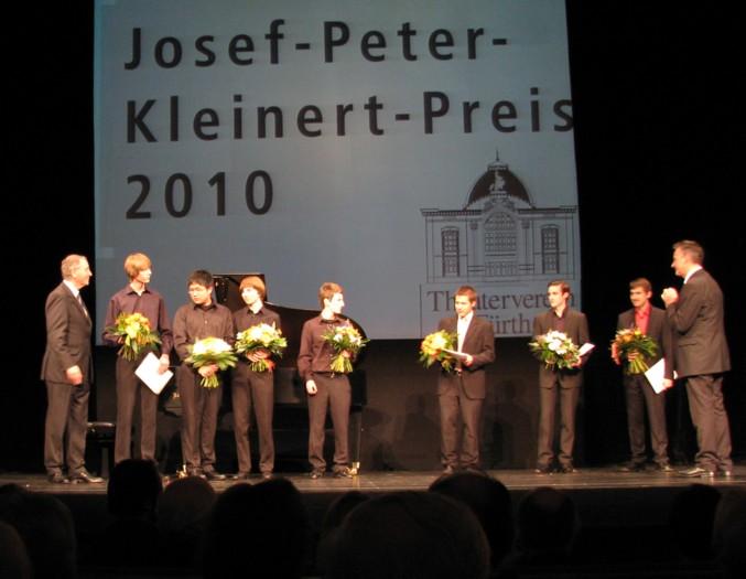 Preisverleihung Josef-Peter-Kleinert-Preis Fuerther Gitarrenquartett