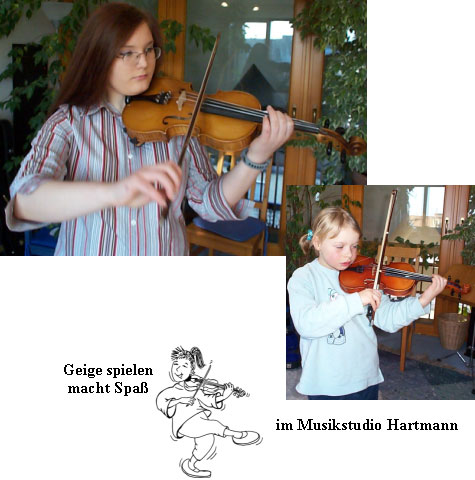 Violinunterricht Musikstudio Hartmann