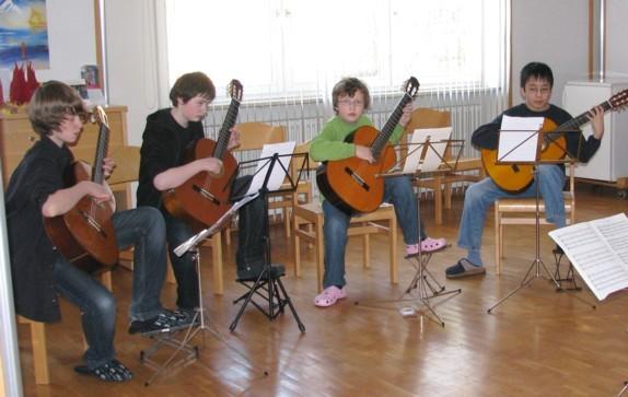Workshop 2011 Dowland-Quartett